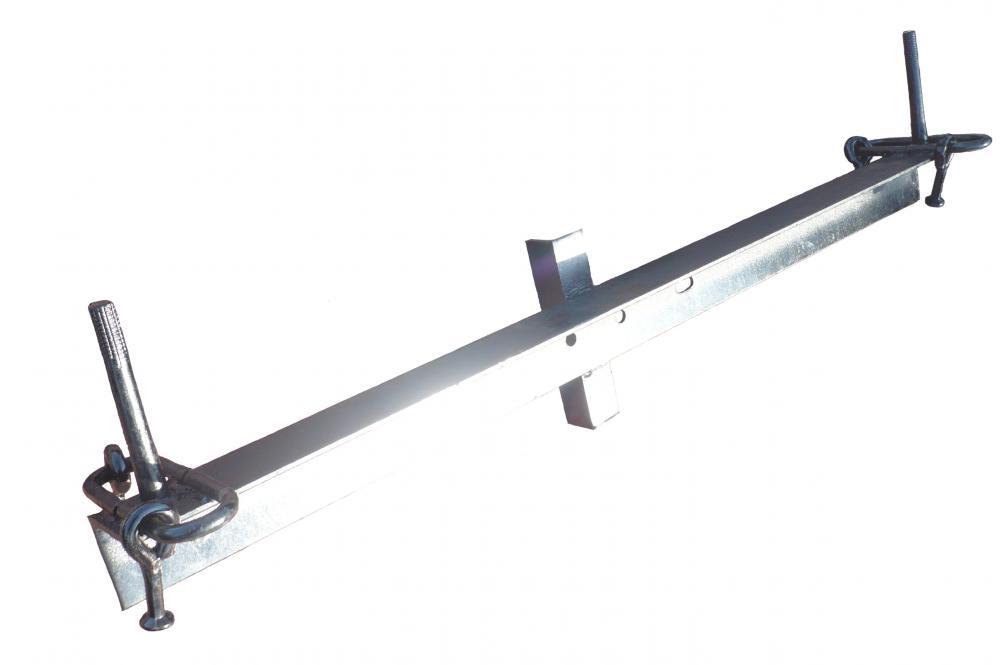 ТМ6 служит для крепления провода с помощью натяжных изолирующих подвесок при установке анкерных опор ВЛ 10кВ.
